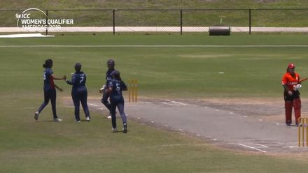 Women's Qualifier 2019 - Americas: Match 3 – USA's Geetika Kodali picks wicket on debut
