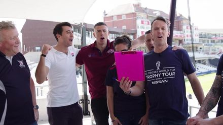 Graeme Swann & Charlie Morley join the Barmy Army!