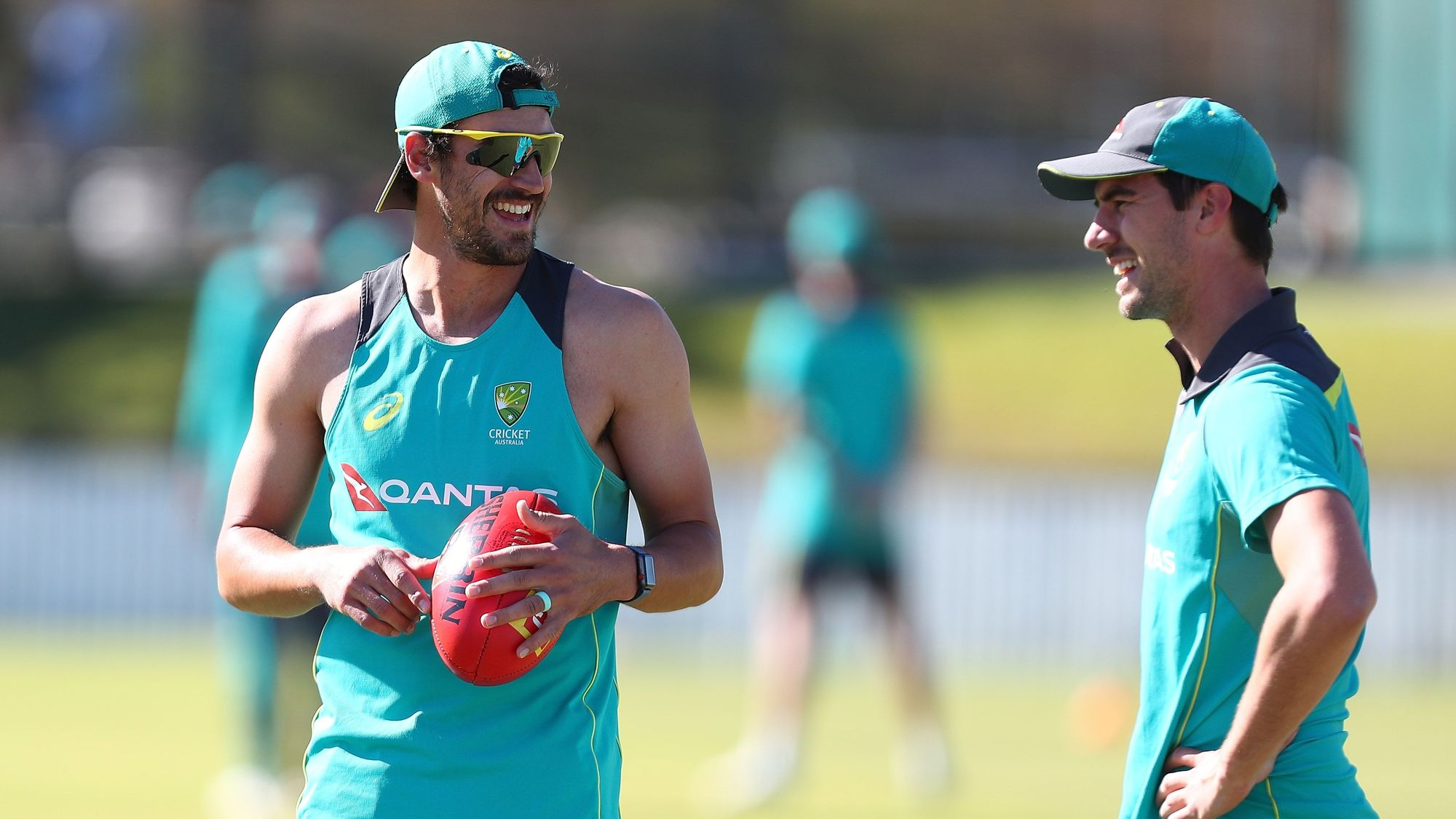 Australia training on specific skills to counter England's flat pitches