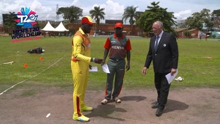 Men's T20WCQ Africa Final: Uganda v Kenya – Toss and captains' interview
