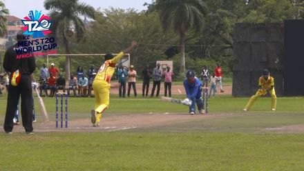 Men's T20WCQ Africa Final: Namibia v Uganda – Birkenstock's fifty