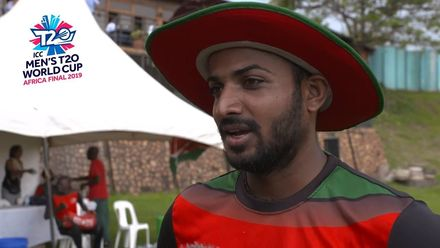 Men's T20WCQ Africa Final: Uganda v Kenya – Player of the Match Rakep Patel