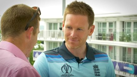Eoin Morgan: 'I should be fit to go for the first game'