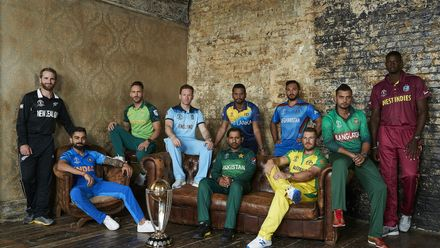 CWC 2019: The captains
