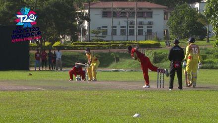 Men's T20WCQ Africa Final: Uganda v Ghana – Riazat Ali Shah hits rapid half-century