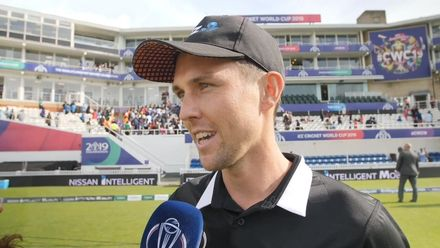 CWC19 WC4: Ind v NZ – Trent Boult reflects on match-winning spell of 4/33