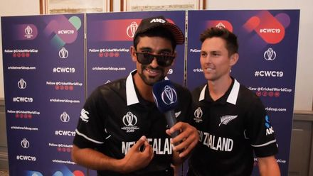 CWC19: New Zealand media session – The Kiwis know how to jam!