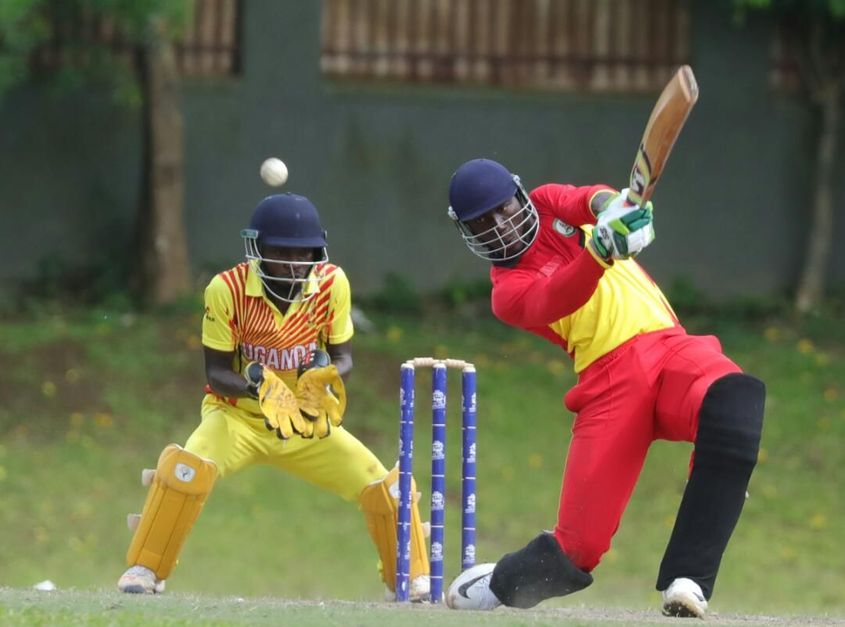 Only Uganda and Ghana could take to the field in Kyambogo on Friday