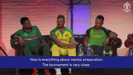 CWC19: Captains have their say