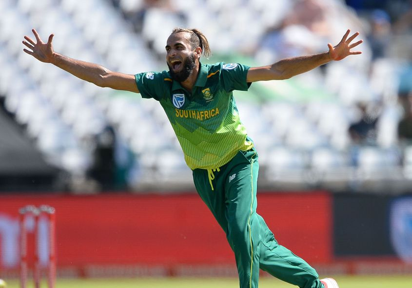 Tahir is famed for his exuberant wicket celebrations
