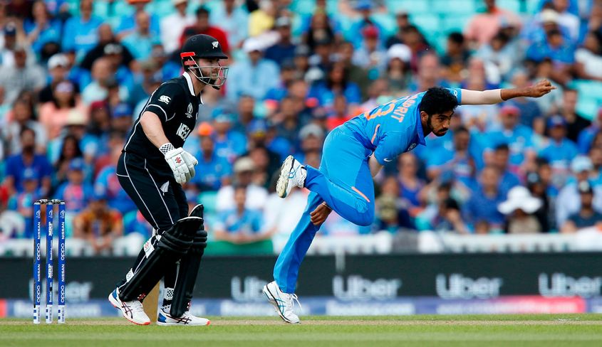 Jasprit Bumrah was a standout performer in a largely forgettable match for India against New Zealand