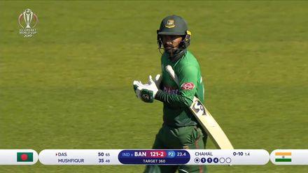 CWC19 WU10: Ban v Ind – Liton Das scores 73 off 90 balls