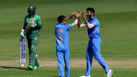 CWC19 WU10: Ban v Ind – Shakib's off stump rattled by Bumrah's yorker