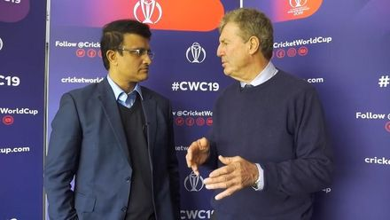 CWC19 WU10: Ban v Ind – 2003 heroes Ganguly and Wright reunite to discuss India's chances