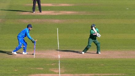 CWC19 WU10: Ban v Ind – Liton becomes victim of Dhoni's brilliant stumping