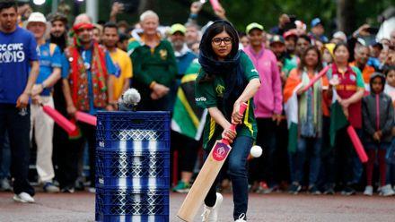 Nobel Prize winner Malala Yousafzai, Opening Party - ICC Cricket World Cup 2019