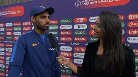 CWC19: Bhuvneshwar Kumar talks about bowling on batsman-friendly turfs