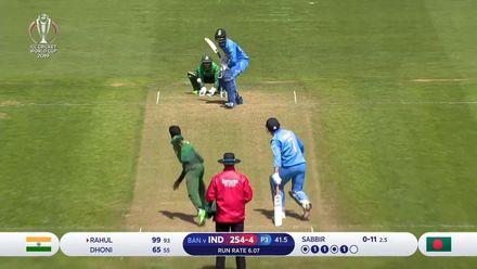 CWC19: Ban v Ind, WU10 - highlights