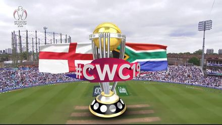CWC19: Eng v SA – Full match highlights