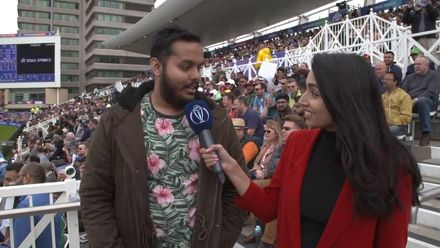 CWC19: WI v Pak – The fan who caught Wahab Riaz chats with Zainab