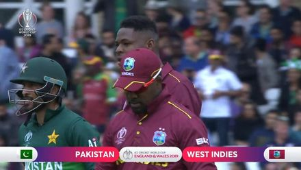 CWC19: WI v Pak – Wahab the last man to fall as Pakistan are bundled out for 105