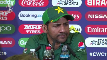 CWC19: WI v Pak – Sarfaraz Ahmed press conference