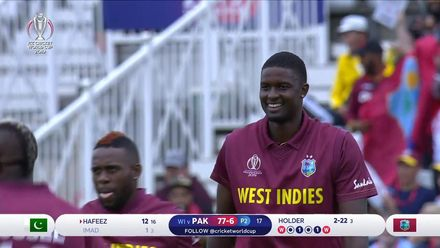 CWC19: WI v Pak – Imad walks back as Holder takes two in one over