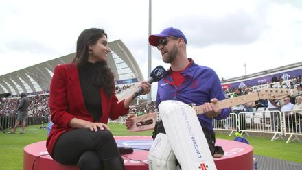 CWC19: WI v Pak – Zainab interviews a 'Cricketarist'!
