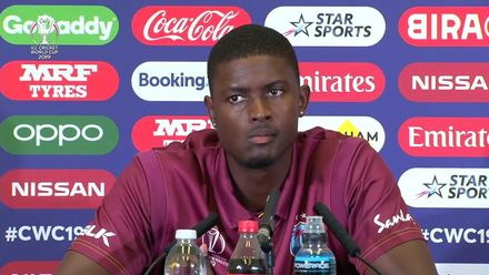 CWC19: WI v Pak – Jason Holder press conference