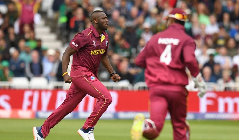 Mostly fit and certainly firing, Andre Russell lays down a marker