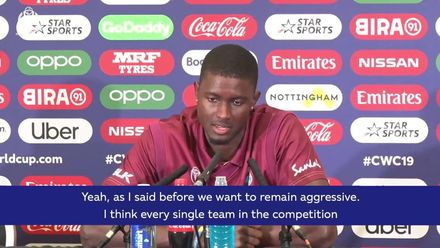 CWC19: WI v Pak – 'We want to remain aggressive'