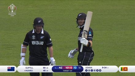 CWC19: NZ v SL - Martin Guptill batting highlights