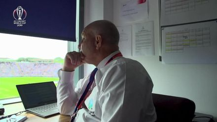 CWC19: NZ v SL - Inside the umpire's room