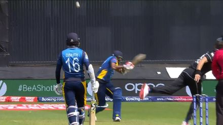 CWC19: NZ v SL - Lakmal undone by Boult bouncer