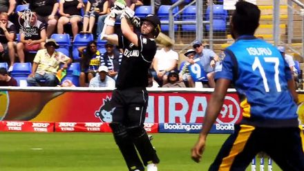 CWC19: NZ v SL - Munro also brings up his 50
