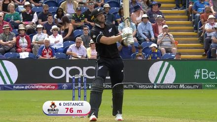 CWC19: NZ v SL - New Zealand innings highlights