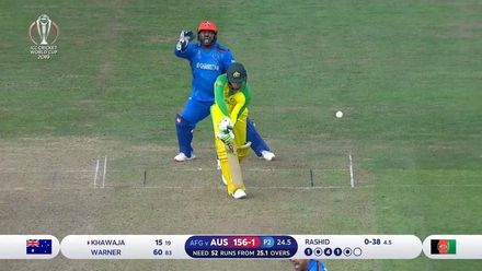 CWC19: AFG v AUS - all Australia wickets