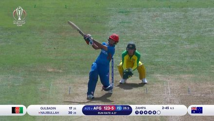 CWC19: AFG v AUS - Afghanistan innings highlights