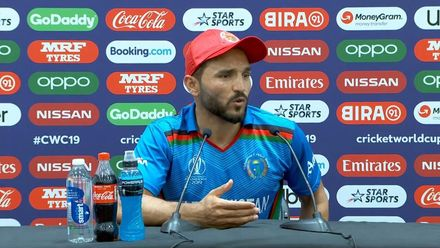 CWC19: AFG v AUS - Gulbadin: 'We couldn't get the momentum we needed'
