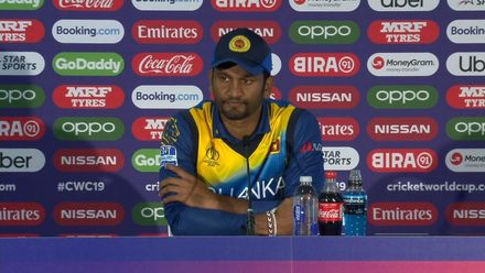 CWC19: NZ v SL - Dimuth Karunaratne press conference