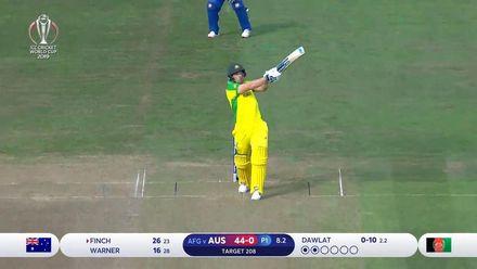 CWC19: AFG v AUS - Australia innings highlights
