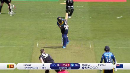 CWC19: NZ v SL - Udana chips one straight to Henry