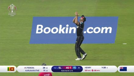 CWC 19: NZ v SL - Henry takes three wickets in blistering opening spell