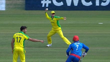 CWC19: AFG v AUS - Nabi run out by Smith