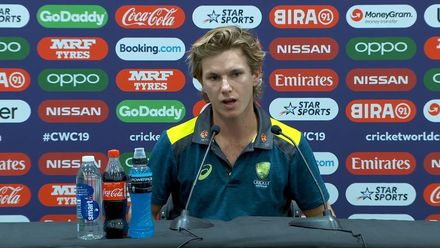 CWC19: AFG v AUS - Zampa: 'We're just getting on with the job'