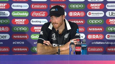 CWC19: NZ v SL - Martin Guptill press conference
