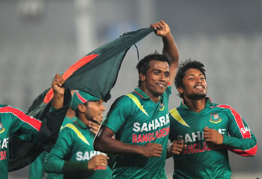 Rubel picked up his career best 6/26, which included a hat-trick, against New Zealand in 2013