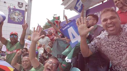 CWC19: SA v BAN - Bangladeshi fans show their support