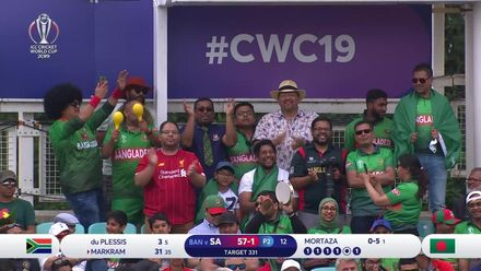 CWC19: SA v BAN - Double the reason to celebrate for this Liverpool/Bangladesh fan