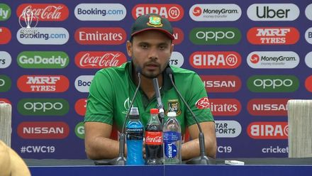 CWC19: SA v BAN - Mashrafe: 'One of our best World Cup performances'